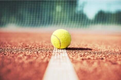 En tennisball