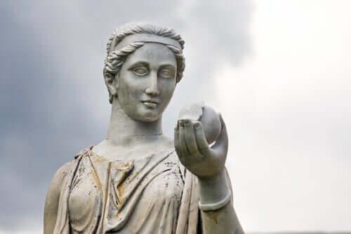 Myten om Hera, matronen av Olympos