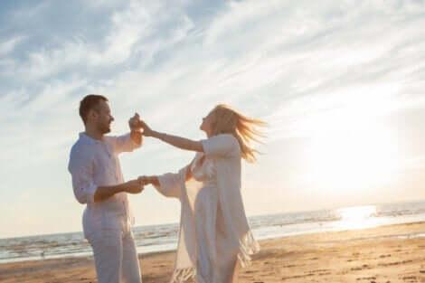 Et par som danser og får forholdet til å fungere.