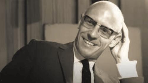 Et bilde av Michel Foucault.