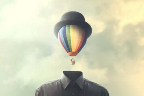 Et luftballonghode.