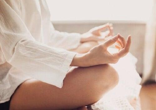 Meditasjon.