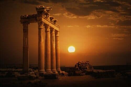 Templet til myten om Apollo.