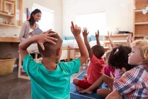 Undervisning i en klasse med seksuelt mangfold