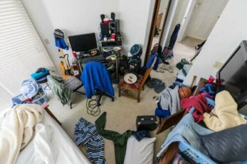 Rommet til en tenåring.