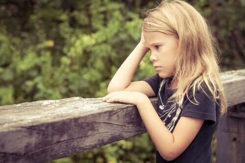5 måter å redusere angst hos barn på