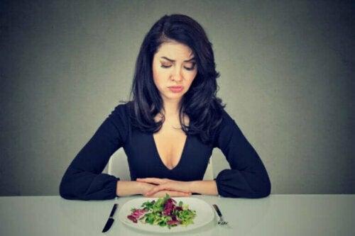 Matfobier skyldes ikke frykten for å gå opp i vekt