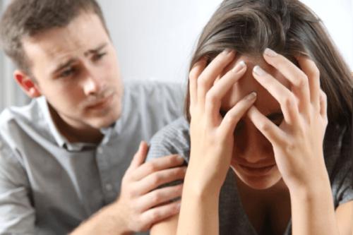 Depresjon i et forhold: En usunn type kjærlighet