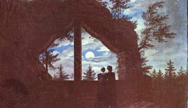 Et maleri av Carl Gustav Carus