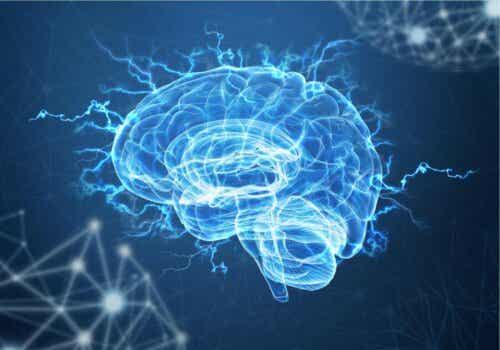 Elektrisitet i hjernen.