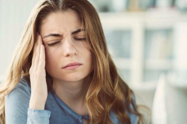 Seks følelsesmessige konsekvenser av stress i dagliglivet